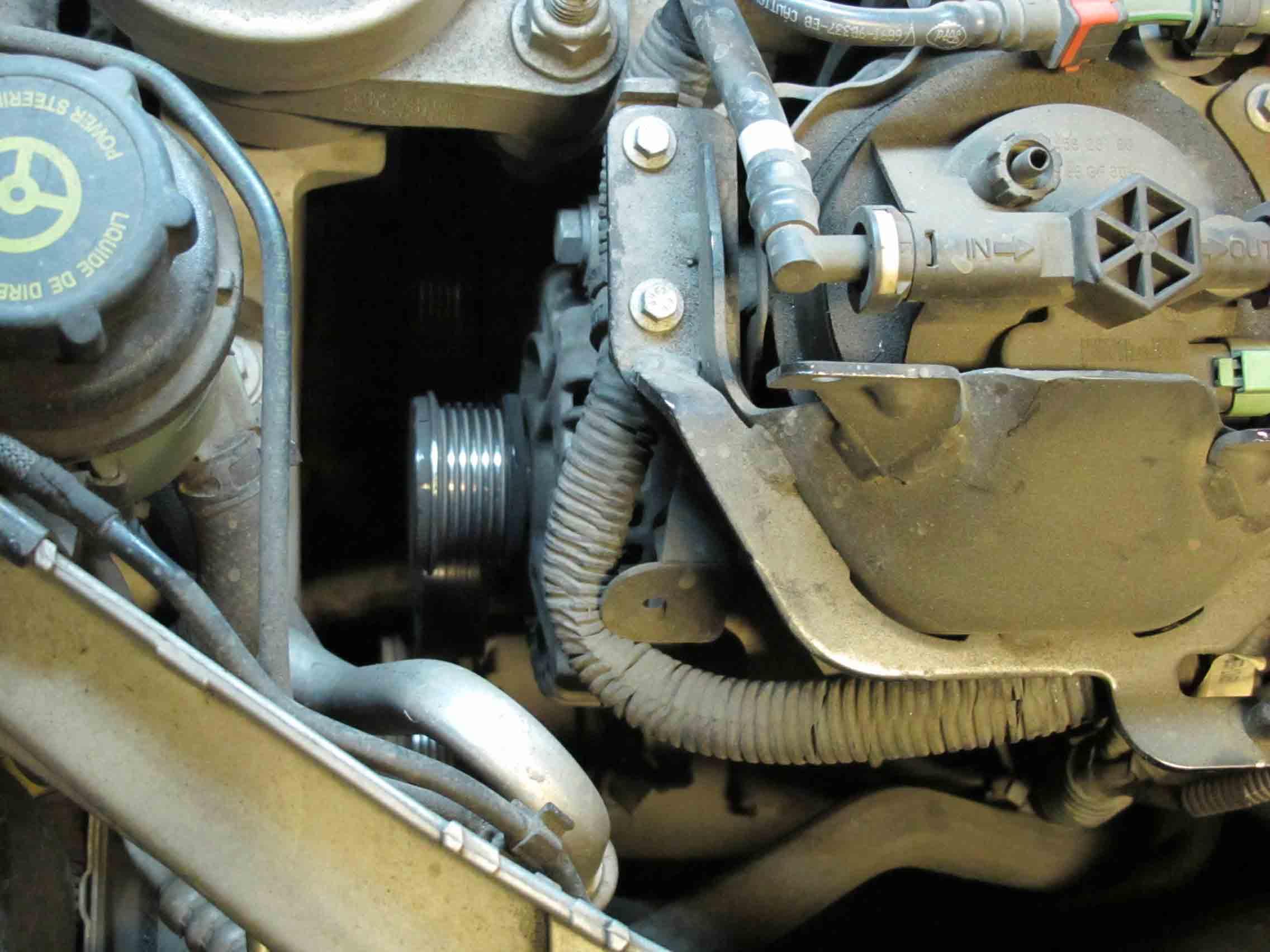 Номер ремня генератора на форд фокус 2